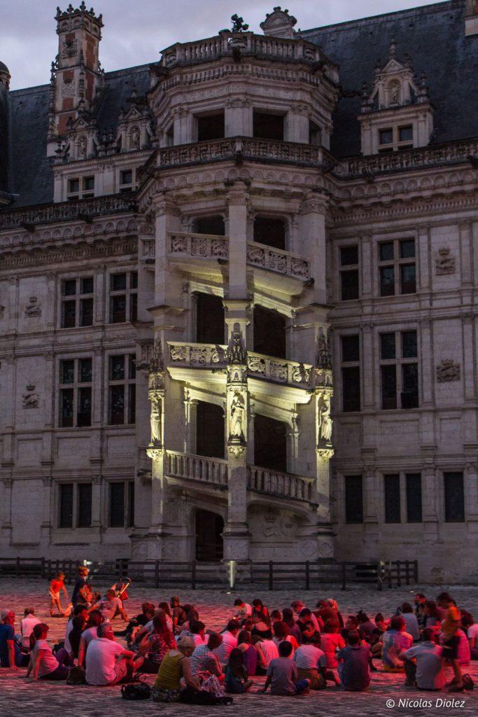 Son et Lumière au château de Blois - DR Nicolas Diolez 2017
