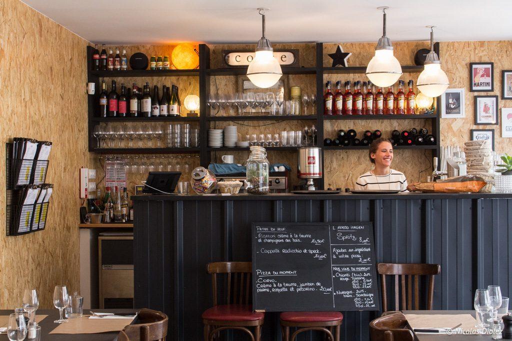 Restaurant Corte Versailles - DR Nicolas Diolez 2017