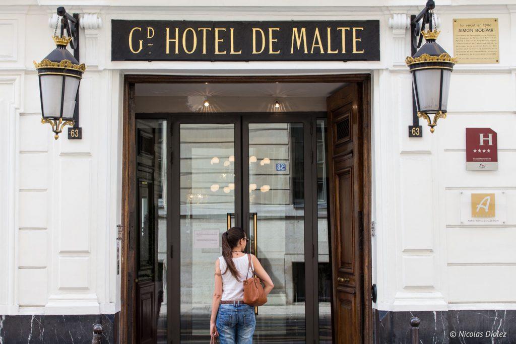 Hôtel de Malte Paris - DR Nicolas Diolez 2017