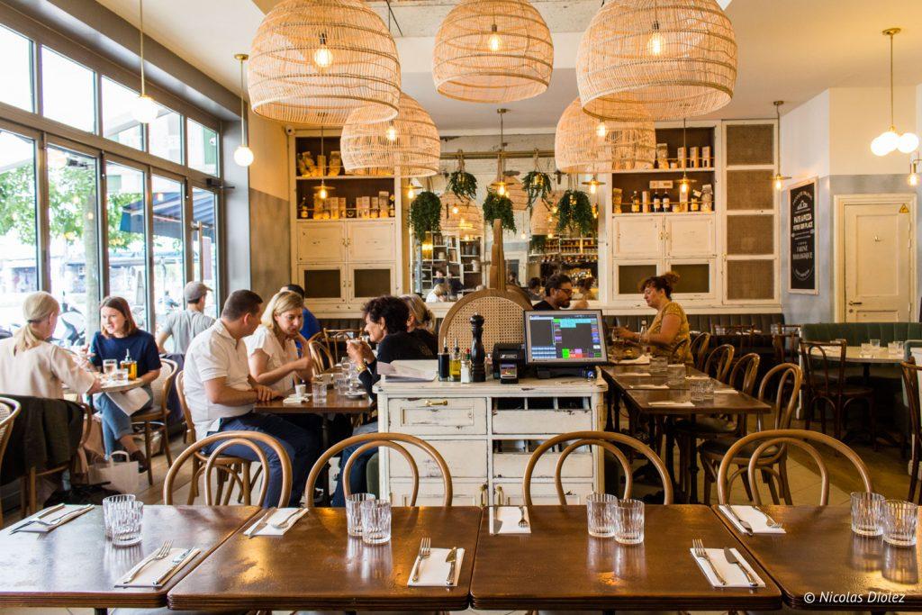 Simonetta restaurant Paris - DR Nicolas Diolez 2017