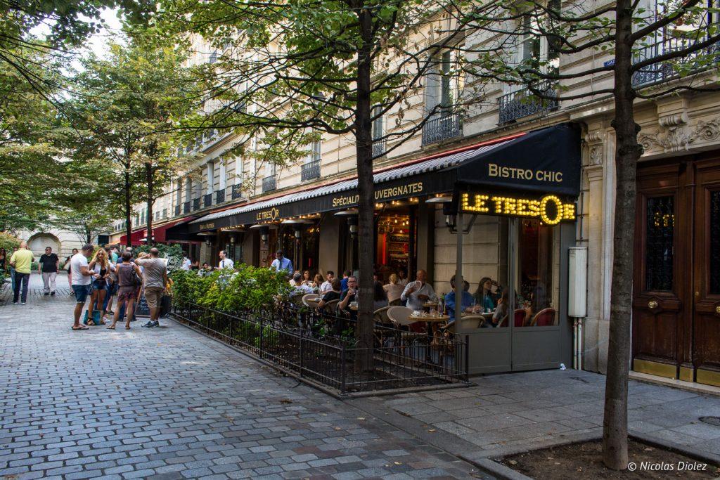 Restaurant Le Trésor Paris - DR Nicolas Diolez 2017