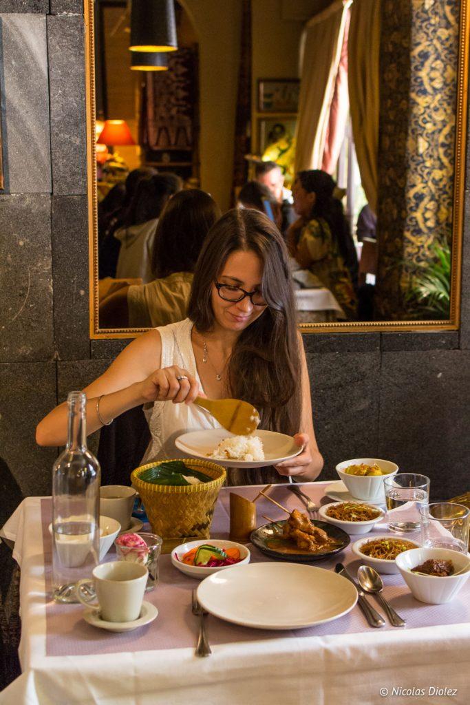 restaurant Djakarta Bali Paris - DR Nicolas Diolez 2017