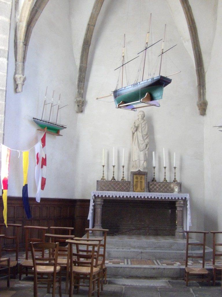 église Notre-Dame du Cap Lihou Granville - DR Melle Bon Plan 2017