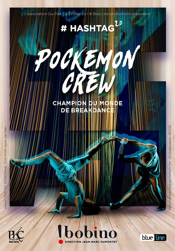Affiche Hashtag Pokemon Crew