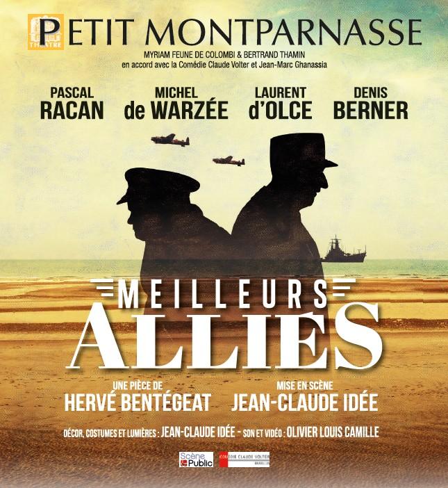 Pièce Meilleurs Alliés Petit Montparnasse