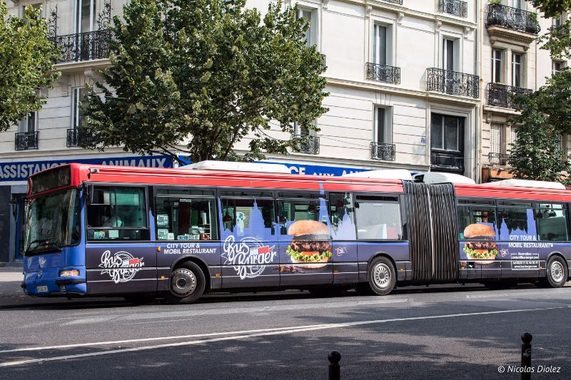 Bus Burger Paris - DR Nicolas Diolez 2017