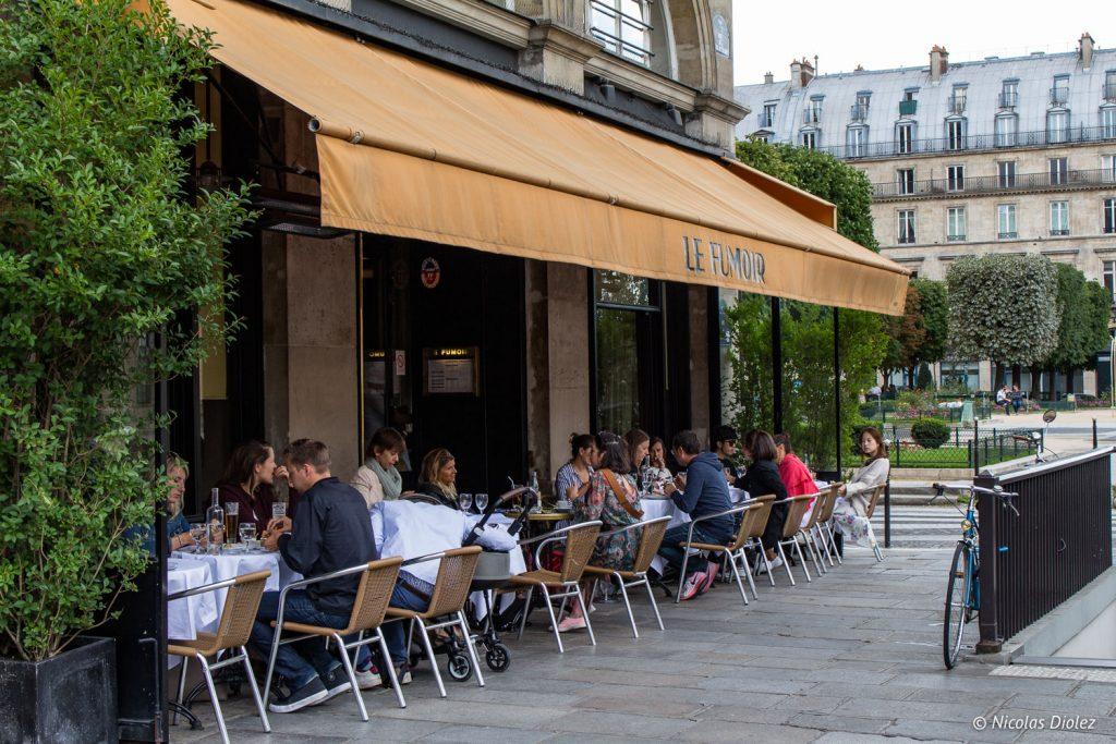 Le Fumoir Paris - DR Nicolas Diolez 2017