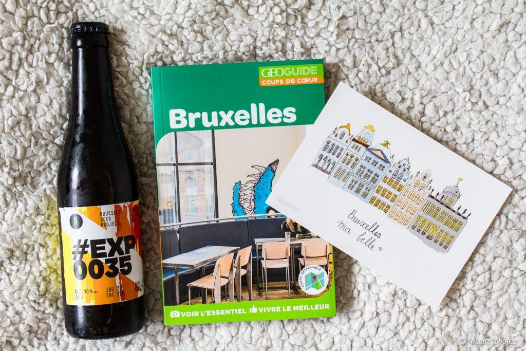 guide Bruxelles géoguide Hachette - DR Nicolas Diolez 2017
