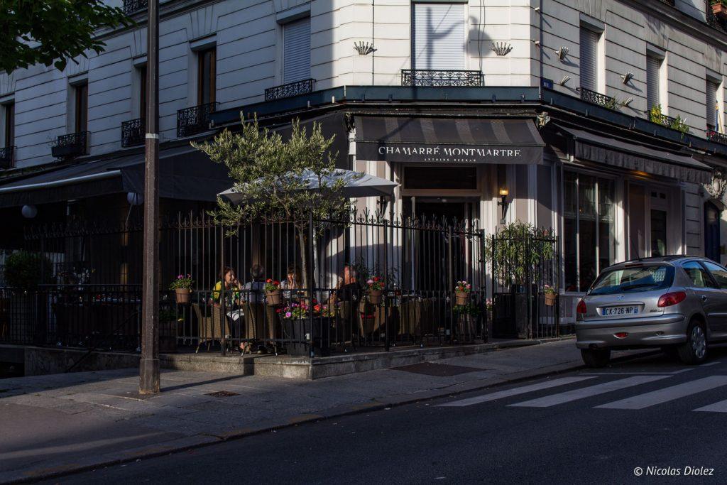 Restaurant Chamarré Montmartre - DR Nicolas Diolez 2017