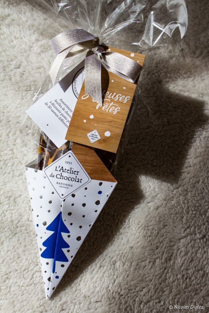 Éventail Atelier du Chocolat noël - DR Nicolas Diolez 2017
