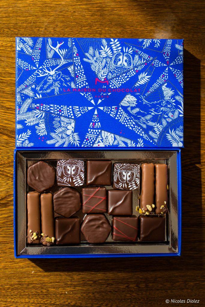 collection Nuit étoilée Maison du Chocolat - DR Nicolas Diolez 2017