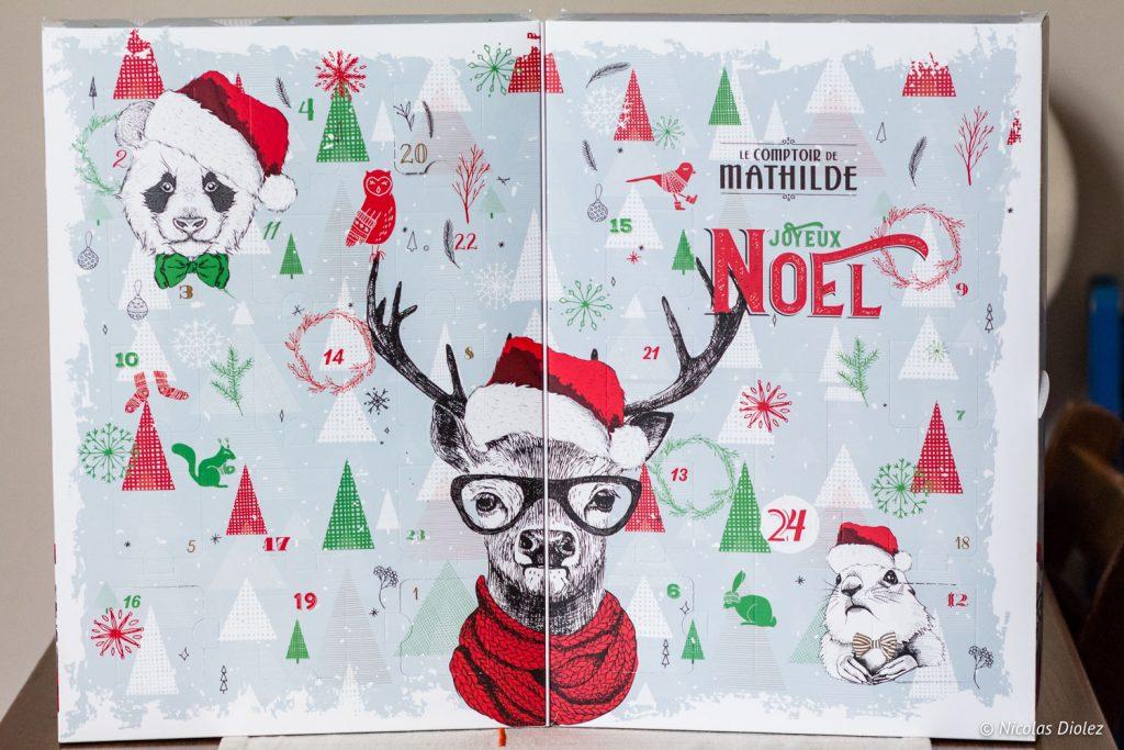 calendrier de l'avent Comptoir de Mathilde - DR Nicolas Diolez 2017
