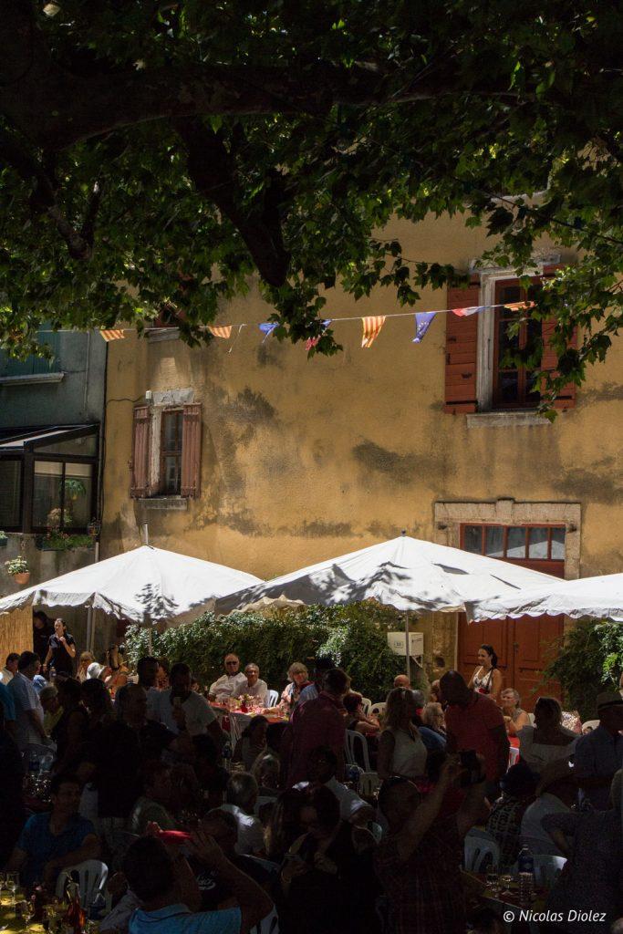 Fête des vins Vacqueyras - DR Nicolas Diolez 2017