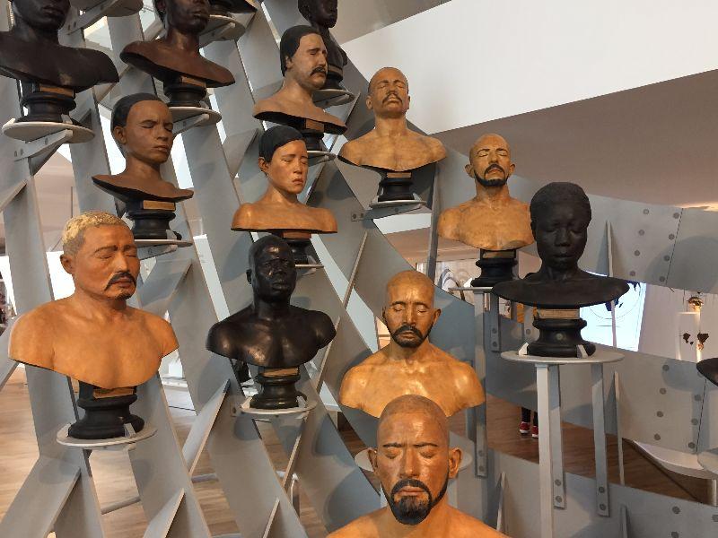 Théo Mercier au musée de l'Homme