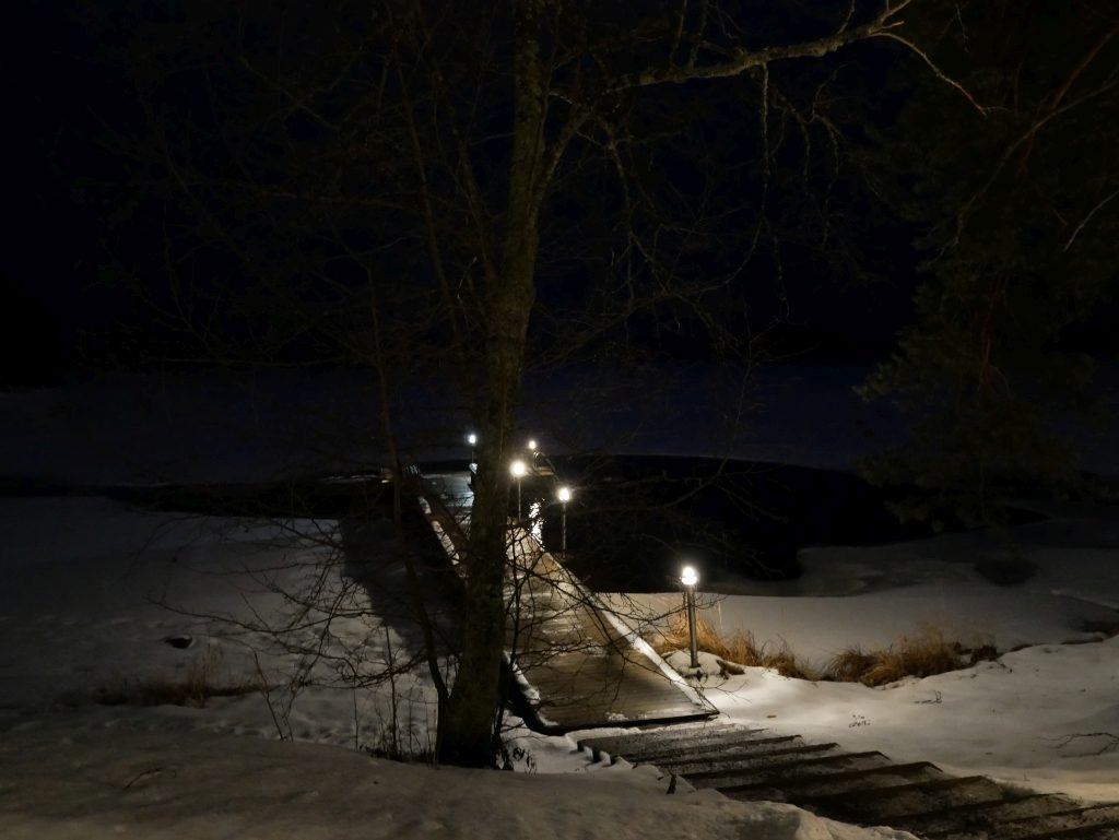 sauna Lehmonkärki Resort Finlande - DR Melle Bon Plan 2017