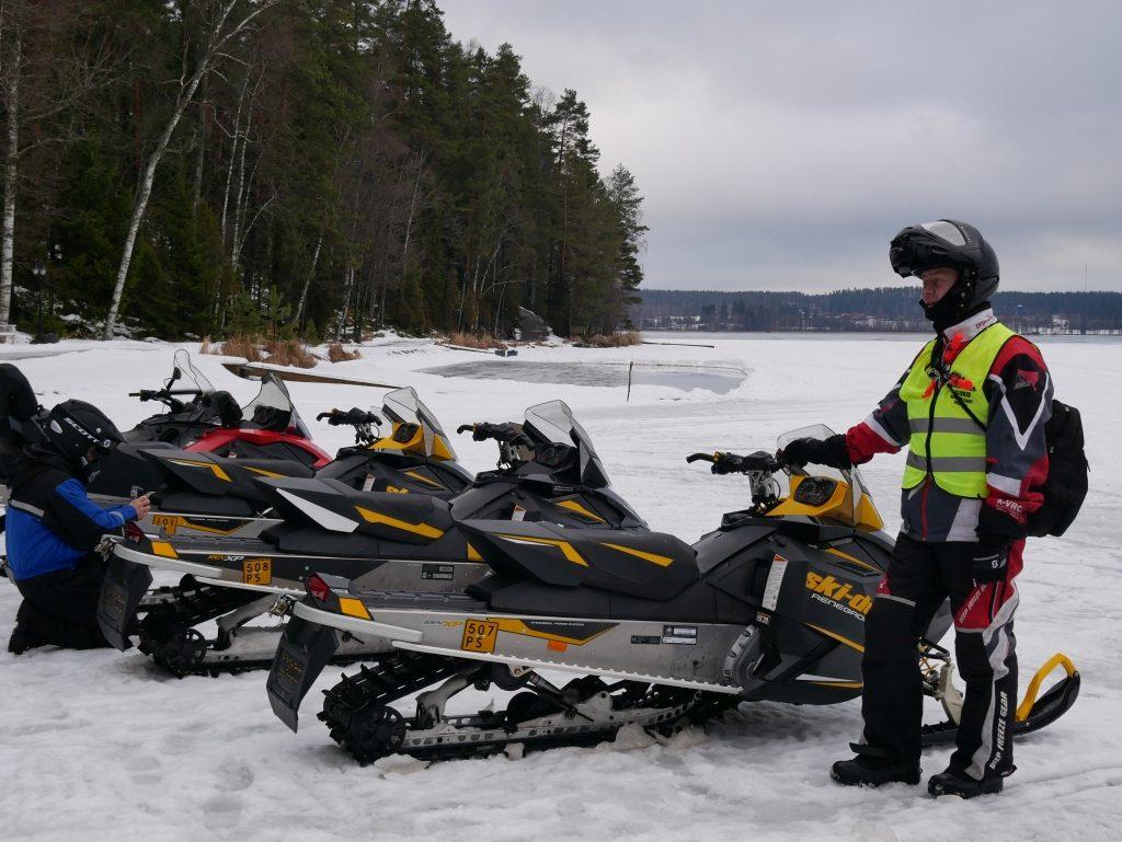 Moto neige Lehmonkärki Resort Finlande - DR Melle Bon Plan 2017
