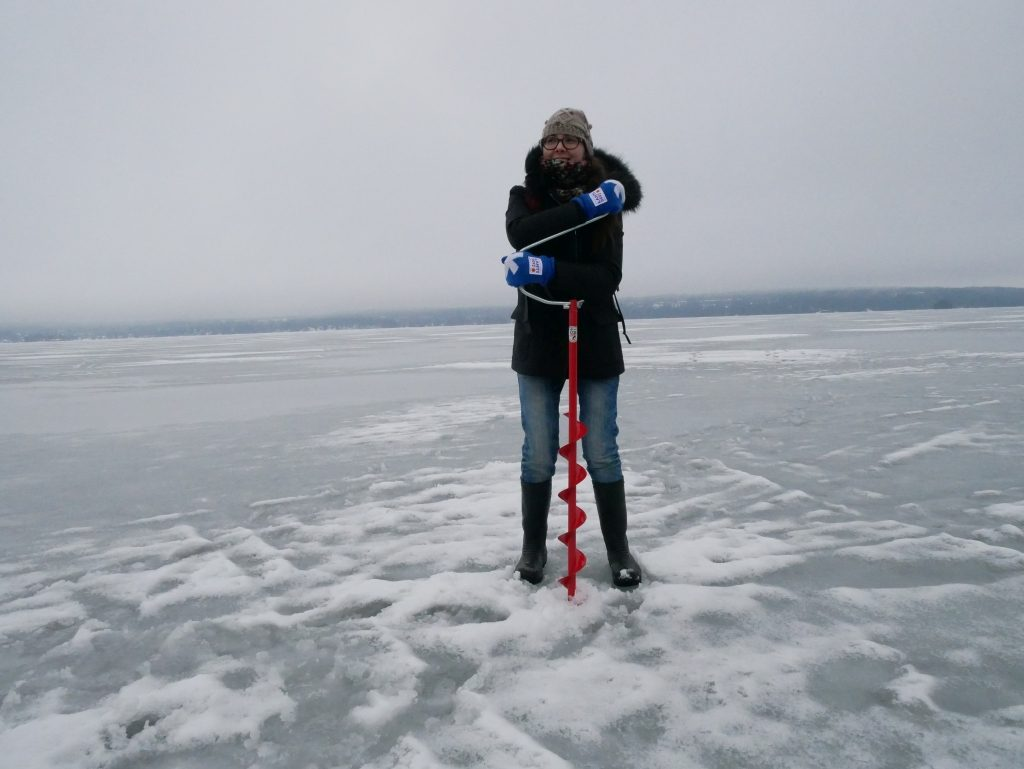 Ice Fishing Mukkula Kartano Manor House Lahti Finlande - DR Melle Bon Plan 2017