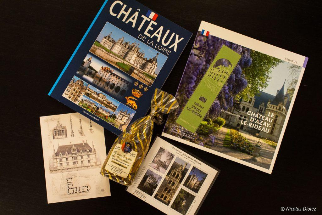 Boutique Château Azay-Le-Rideau Loire - DR Nicolas Diolez 2017