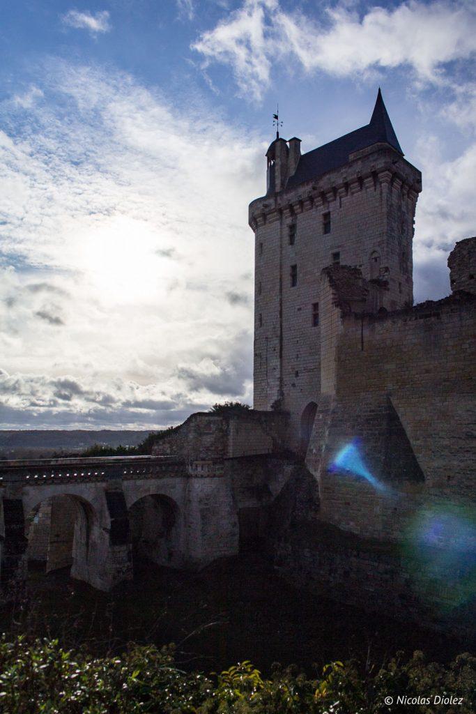 Forteresse royale de Chinon Loire - DR Nicolas Diolez 2017