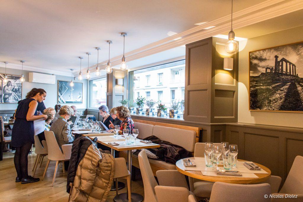 restaurant Mavrommatis Passy - DR Nicolas Diolez 2017
