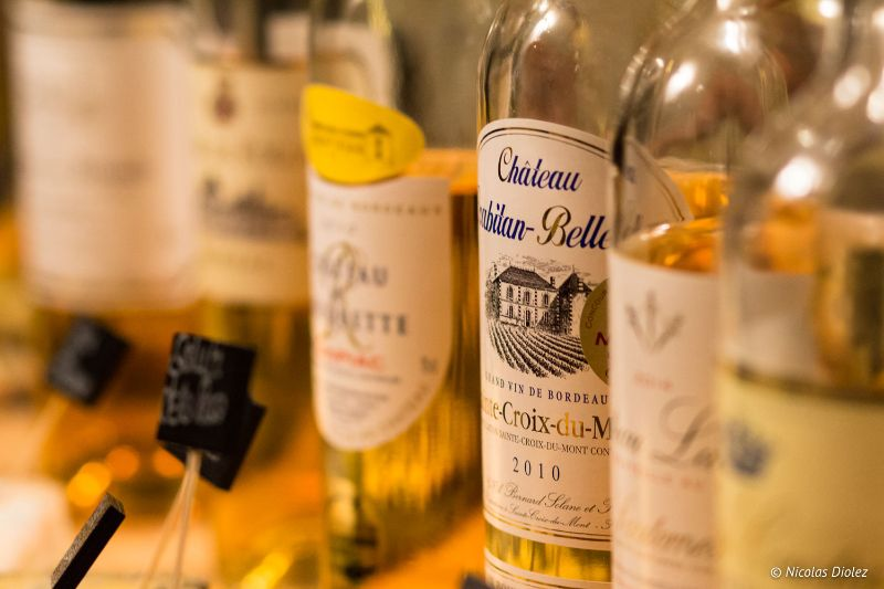 Vins doux de Bordeaux chez Saisons Paris- DR Nicolas Diolez 2017