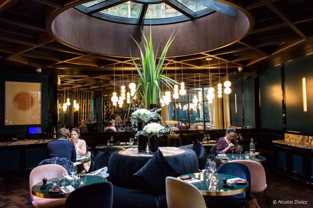 restaurant Roch Hotel & Spa Paris - DR Nicolas Diolez 2017