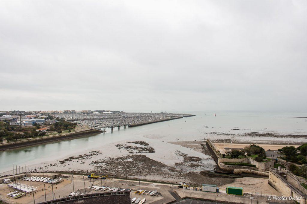 vue de la Tour La Rochelle - DR Nicolas Diolez 2017