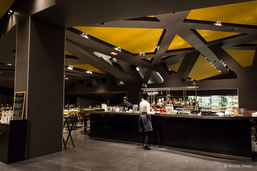 Restaurant Le Balcon Philarmonie Paris - DR Nicolas Diolez 2017