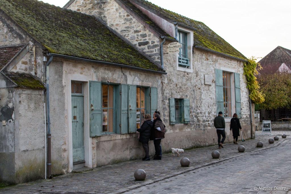 village Barbizon - DR Nicolas Diolez 2017