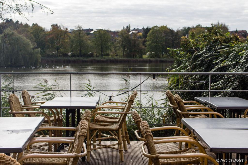 restaurant Abbaye du Parc Louvain Belgique - DR Nicolas Diolez 2017