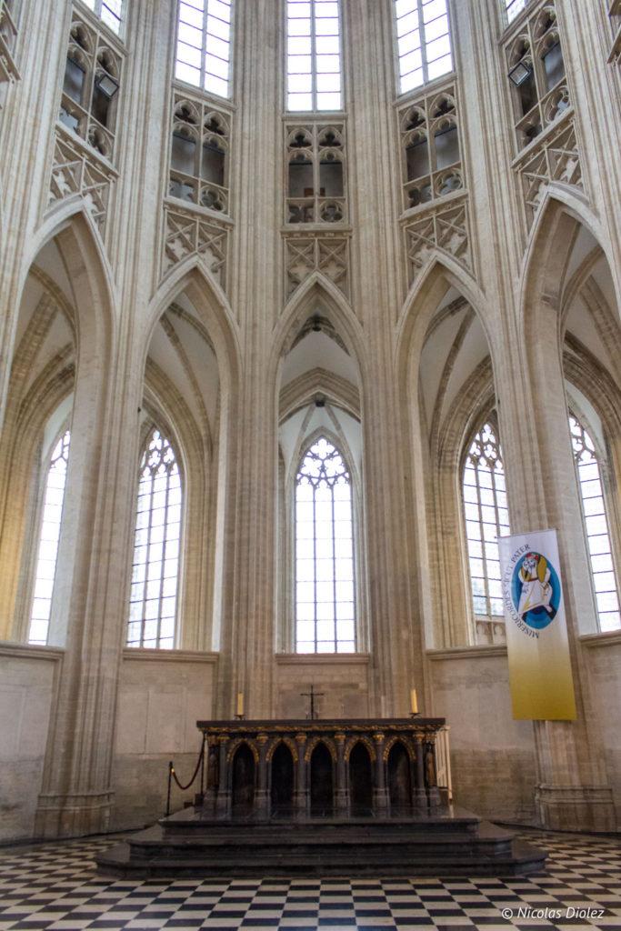 Collégiale Saint-Pierre de Louvain Belgique - DR Nicolas Diolez 2017