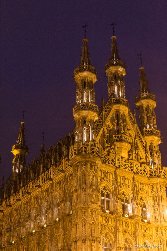 Hôtel de Ville Louvain Belgique - DR Nicolas Diolez 2017