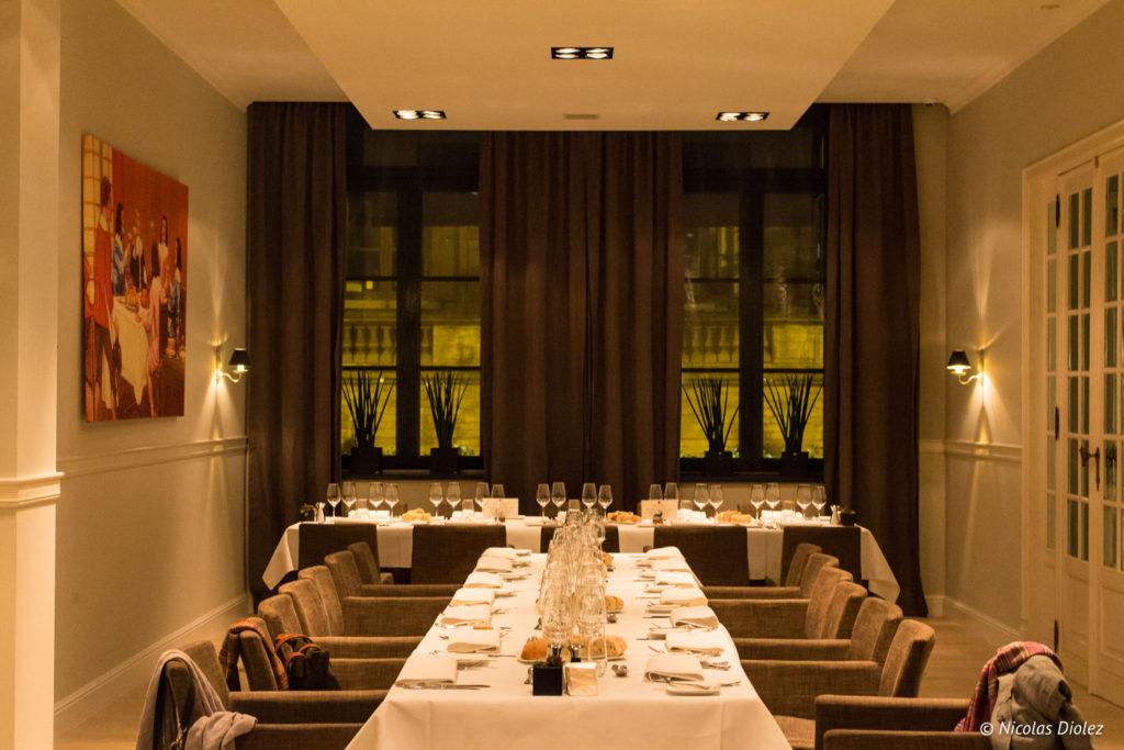 Restaurant D'Artagnan Louvain Belgique - DR Nicolas Diolez 2017