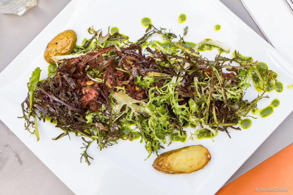 restaurant Hôtel Maison Montgrand Marseille - DR Nicolas Diolez 2017
