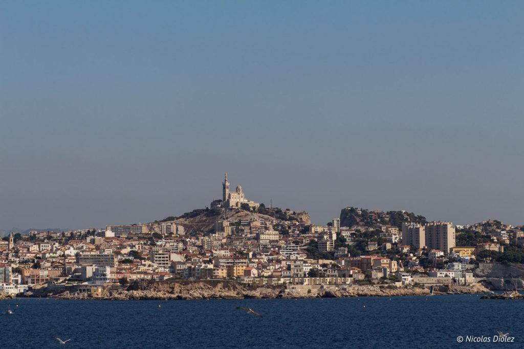 Marseille vue du Château d'If Marseille - DR Nicolas Diolez 2017