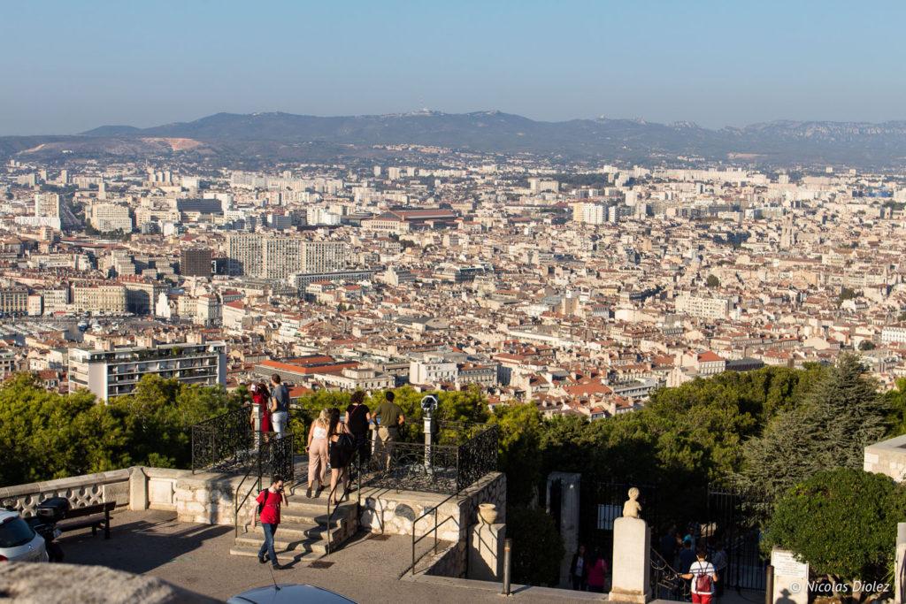Vue sur Marseille - DR Nicolas Diolez 2017