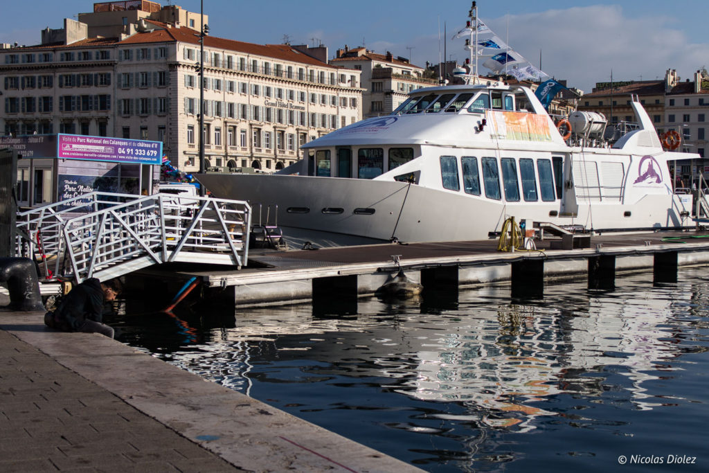 Vieux port Marseille - DR Nicolas Diolez 2017