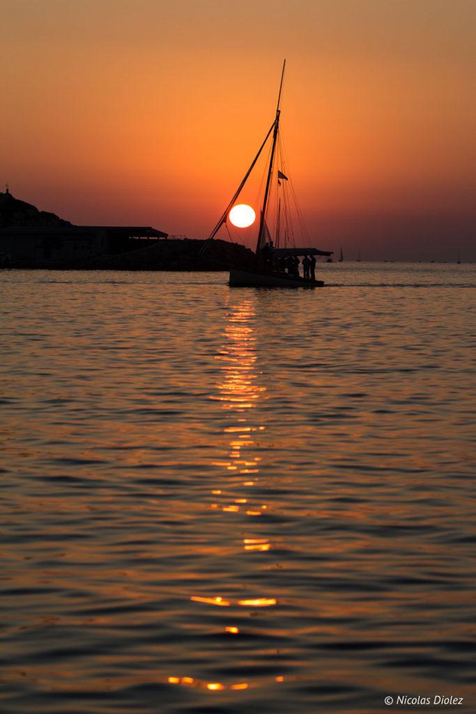 coucher de soleil Marseille - DR Nicolas Diolez 2017