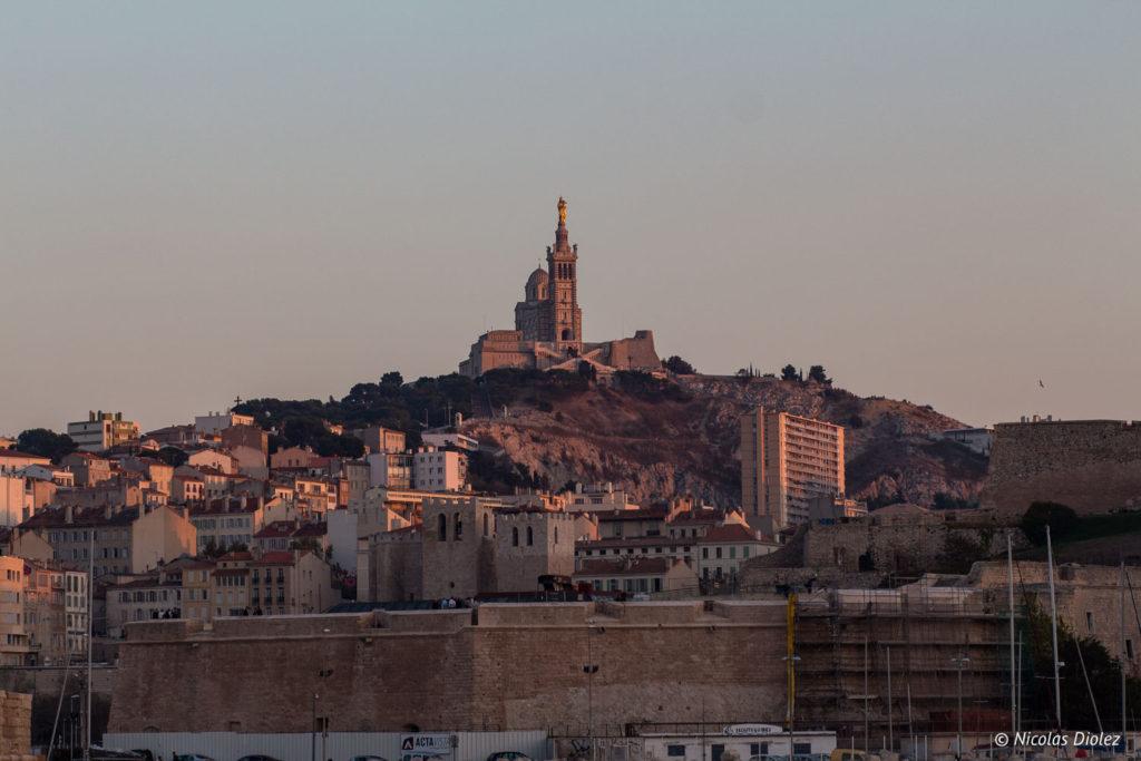 Notre-Dame de la Garde Marseille - DR Nicolas Diolez 2017
