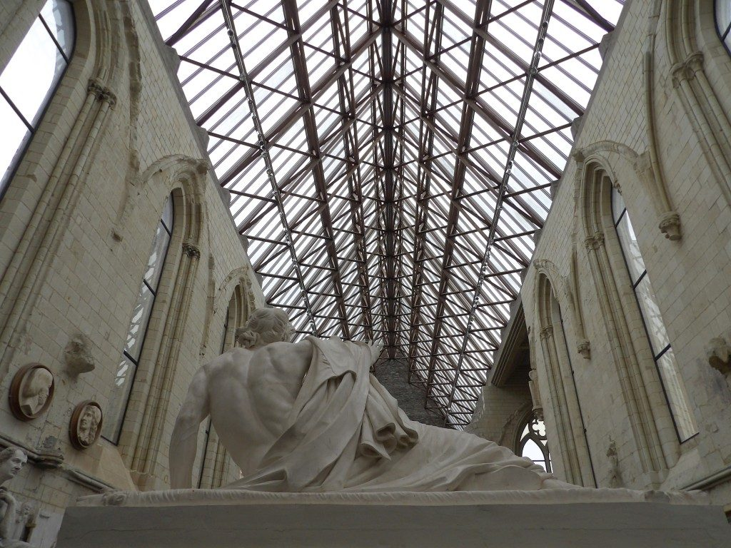 sculpture et plafond Galerie David d'Angers