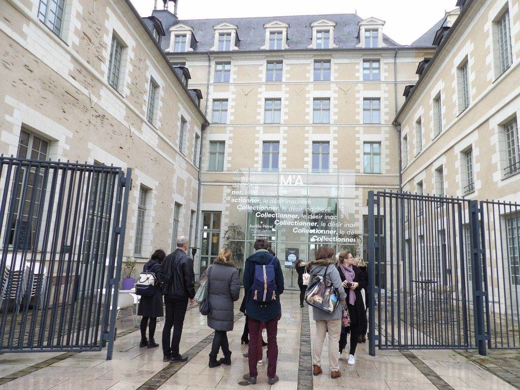 Entrée Musée des Beaux-Arts d'Angers