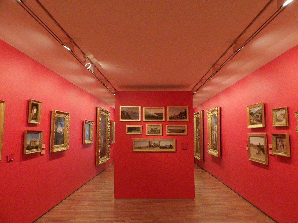 salle rouge Musée des Beaux-Arts d'Angers