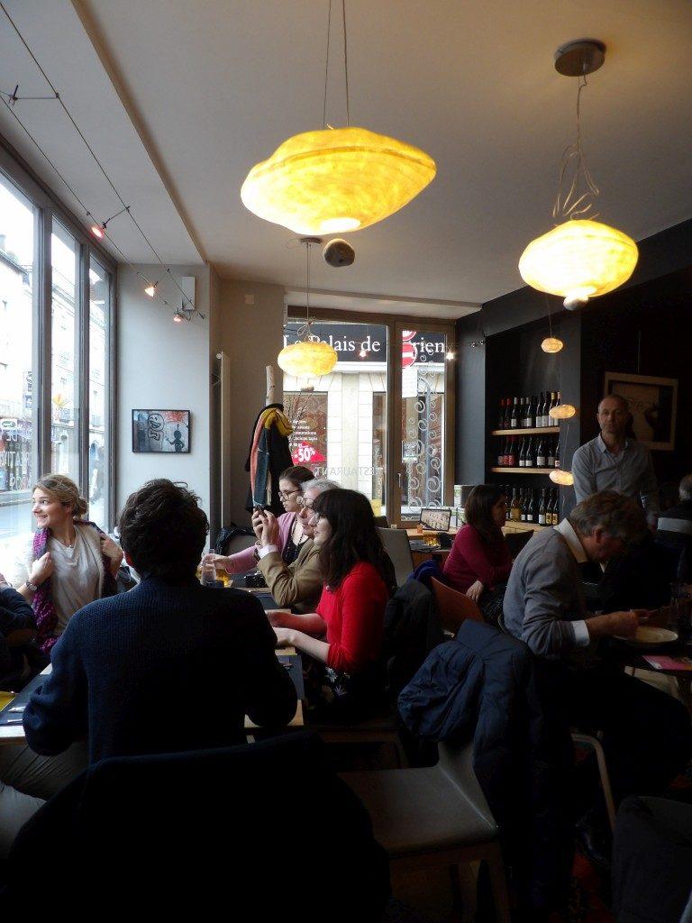 salle restaurant Osé Angers