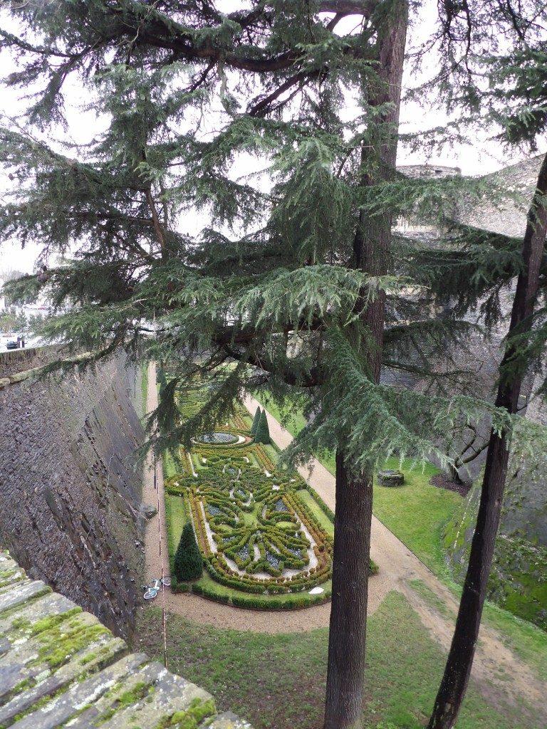 douves château d'Angers