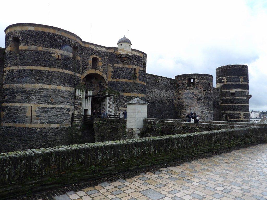 entrée château d'Angers