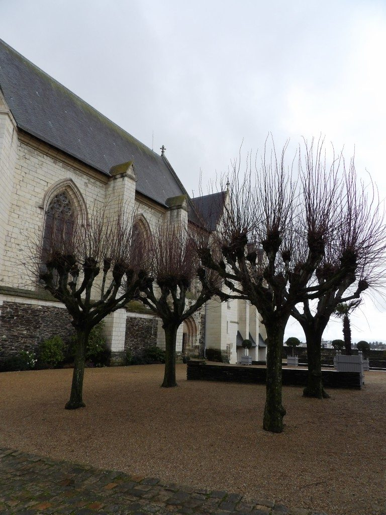 chapelle château d'Angers
