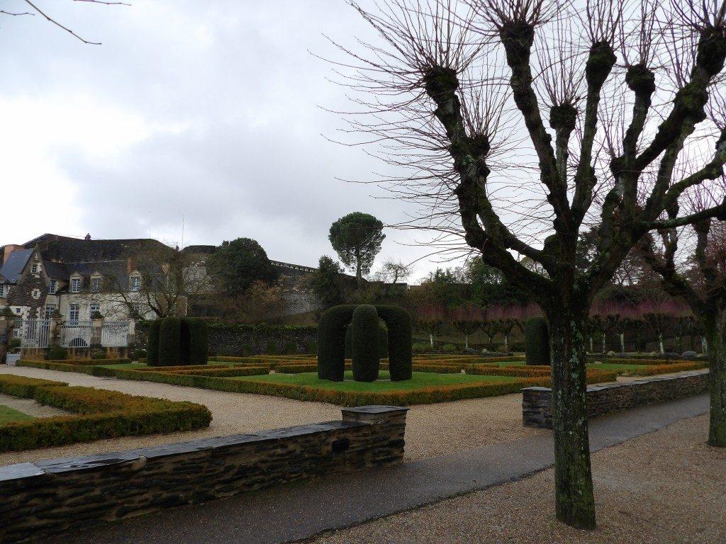 jardins château d'Angers