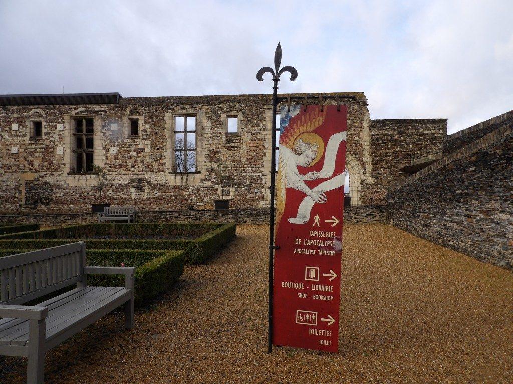 panneau château d'Angers