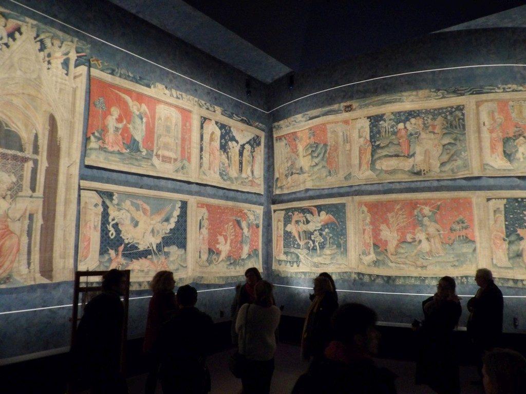 Tenture de l'Apocalypse château d'Angers