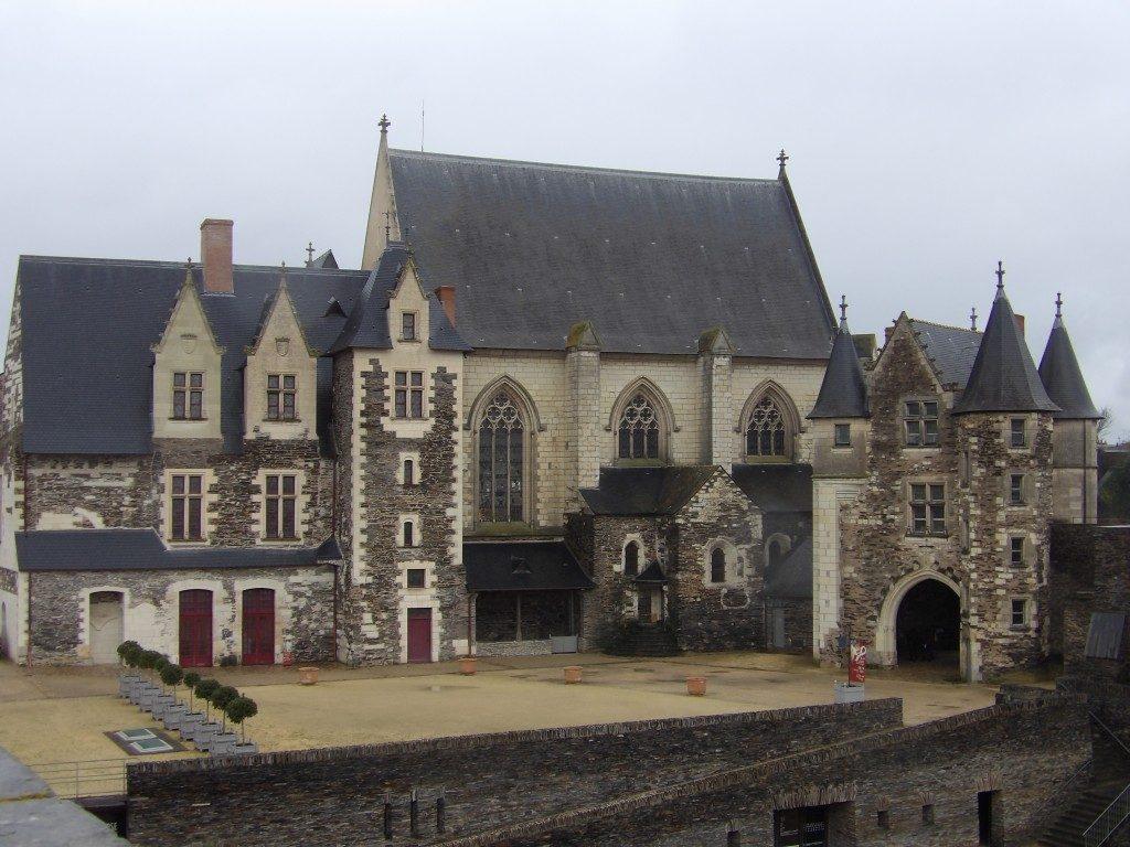 bâtiments château d'Angers